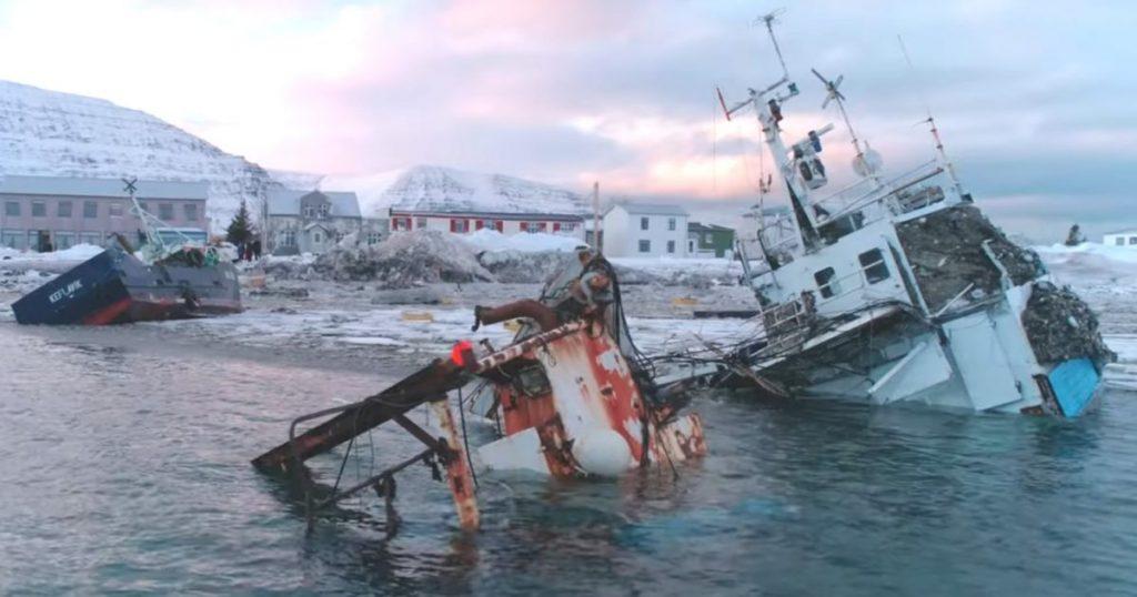 lawines op IJsland