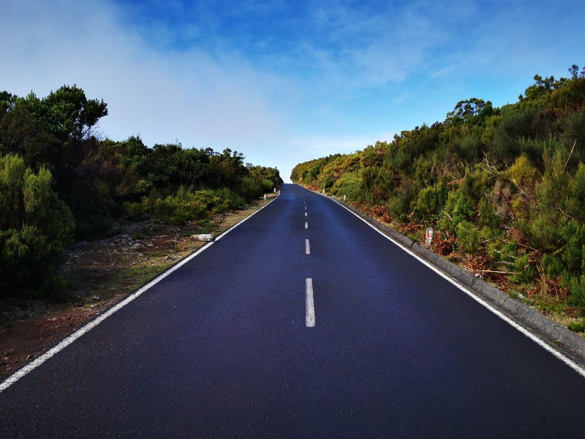 Prachtige wegen op Madeira