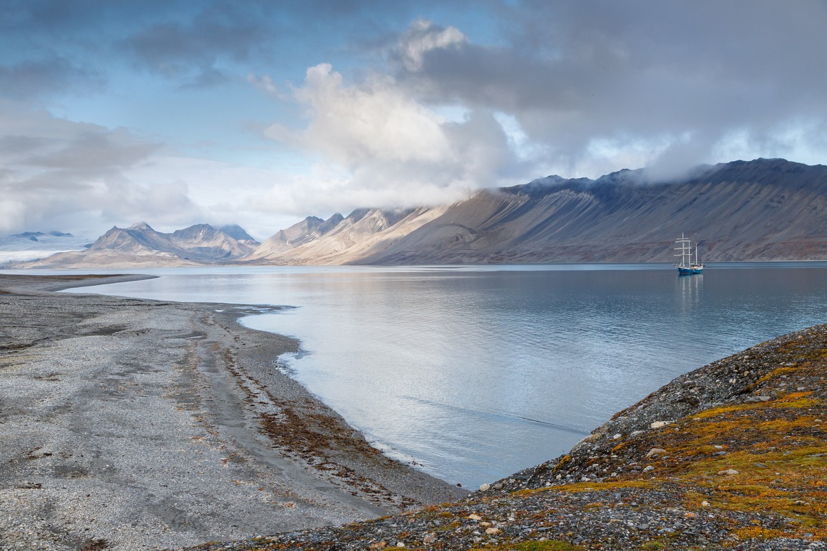 Lente, zomer. herfst of winter, Spitsbergen is altijd prachtig. Foto: Askja Reizen
