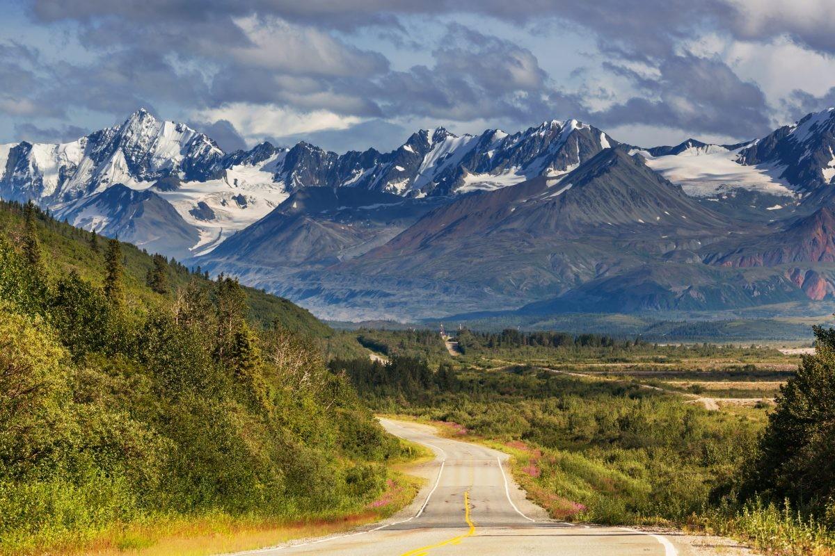 De natuur in Alaska is afwisselend, maar altijd ruig. Foto: Askja Reizen