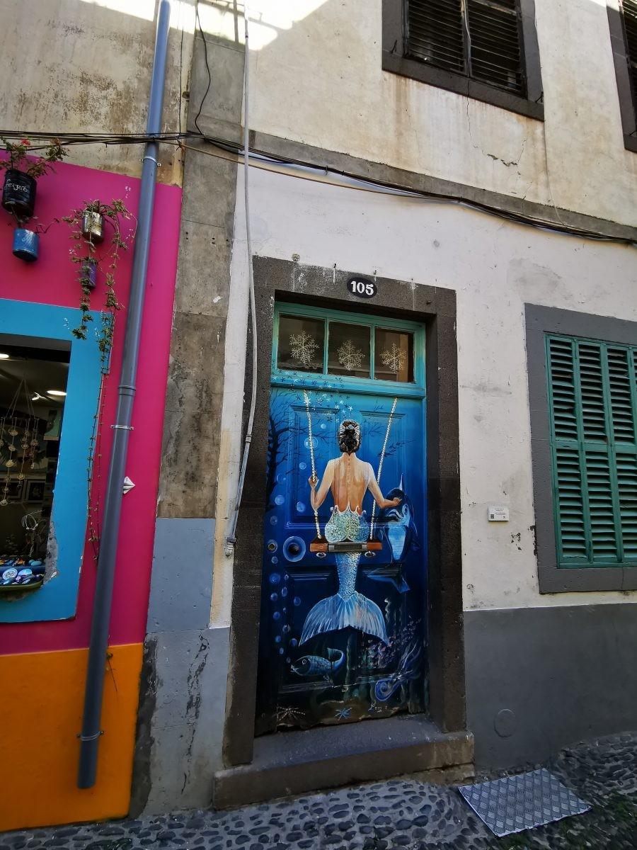 Street art Madeira, Rua Santa Maria