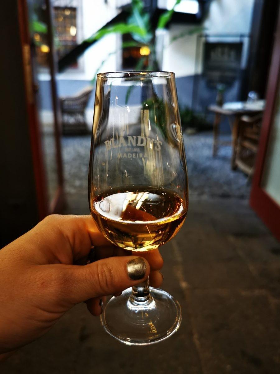 Blandys wine