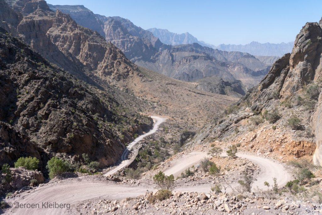 fietser in Oman