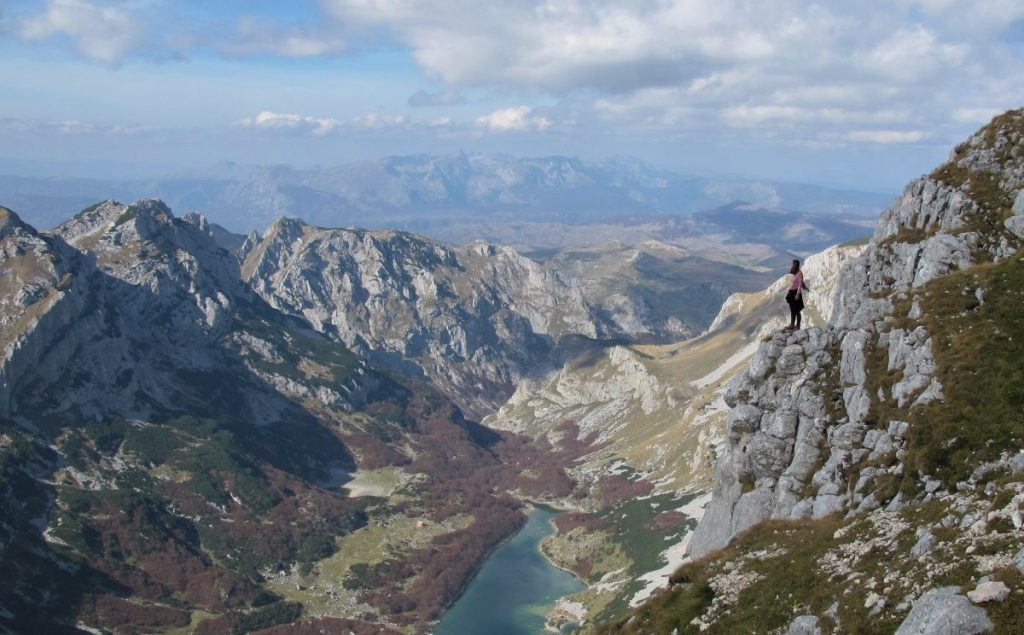 Durmitor Nationaal Park in Montenegro