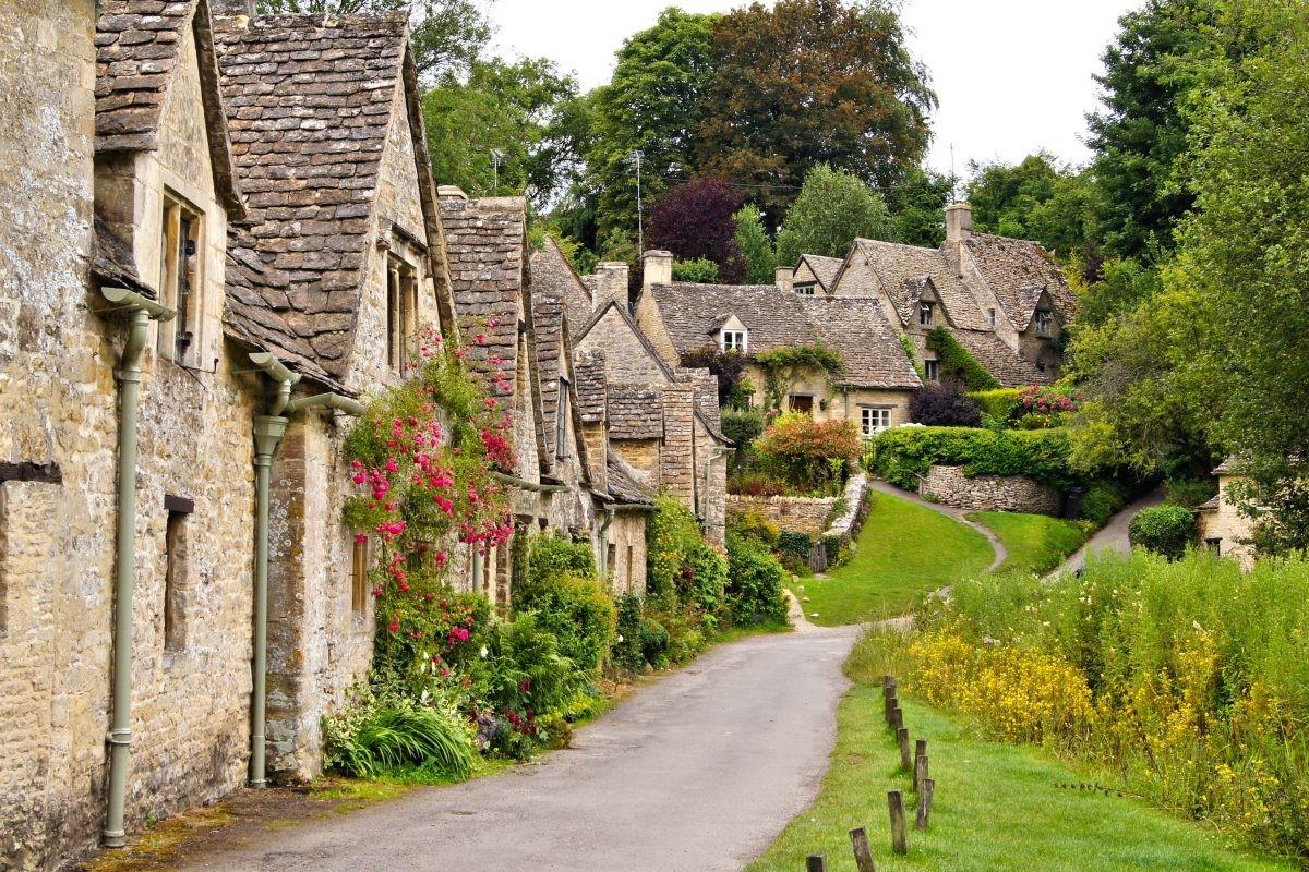 Romantiek ten top! Zie je jezelf al toeren door de schattige dorpjes van Zuid-Engeland? Foto: Buro Scanbrit