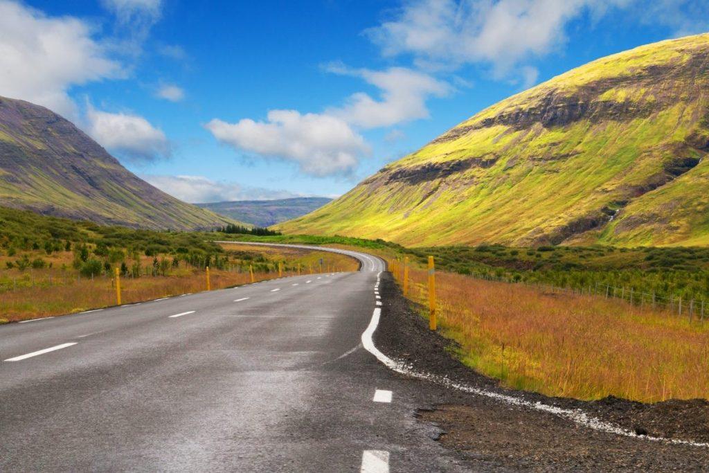 routes door groot-brittannië