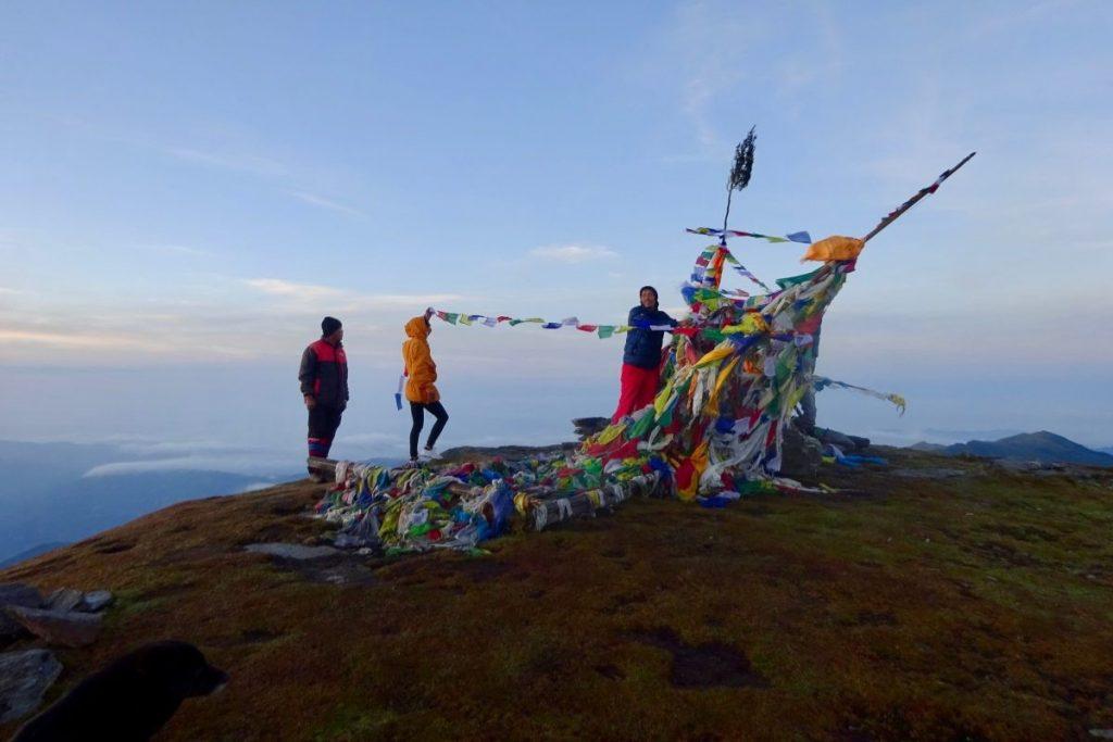 Foto op de top van Pike Peak