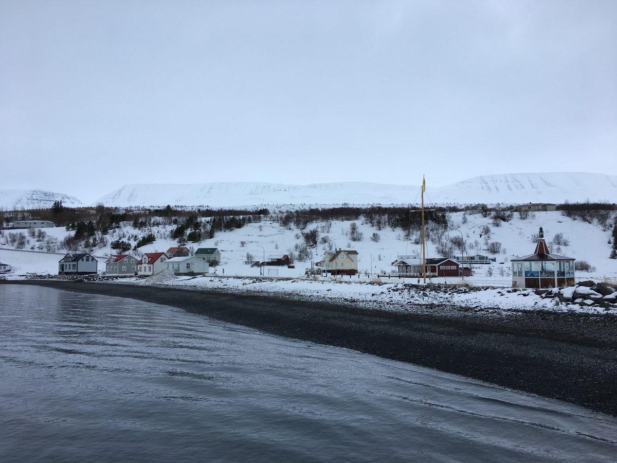 Een prachtig winters IJsland. Foto: Vincent Drost