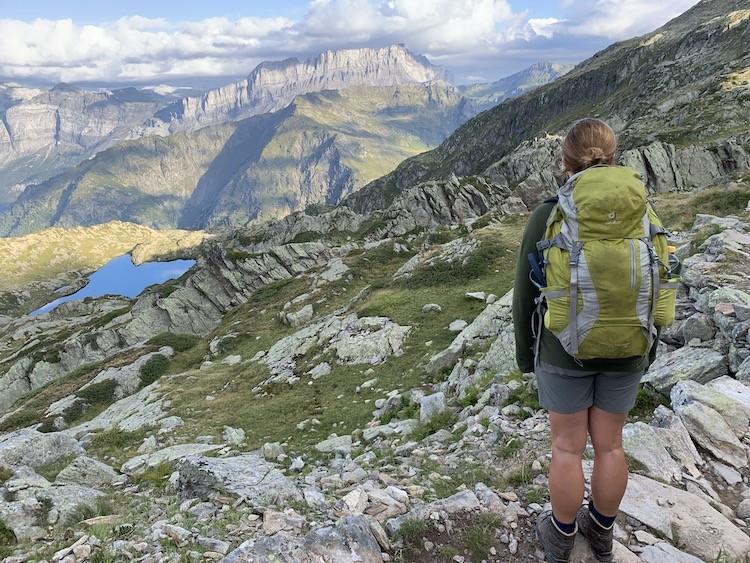 Fantastische uitzichten tijdens de tocht. Foto: Dagmar Wolters