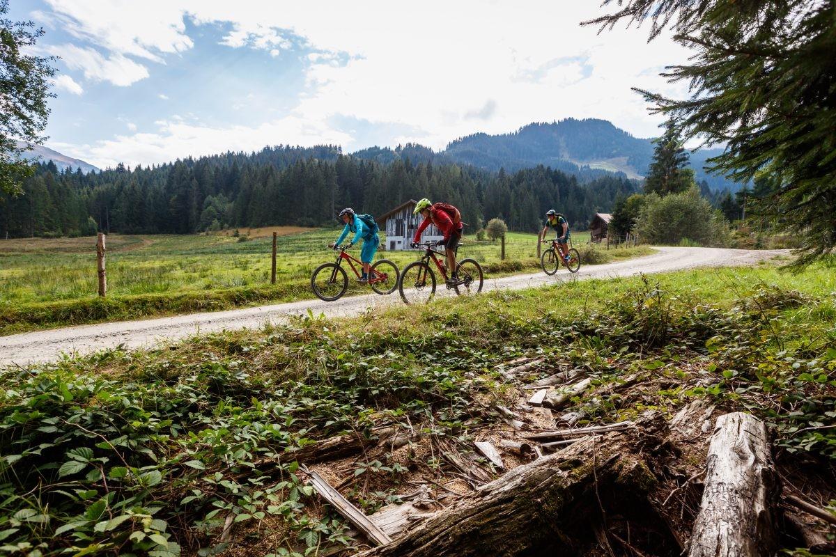 Lekker toeren met de fiets door het Windautal. Foto: Erwin Haiden