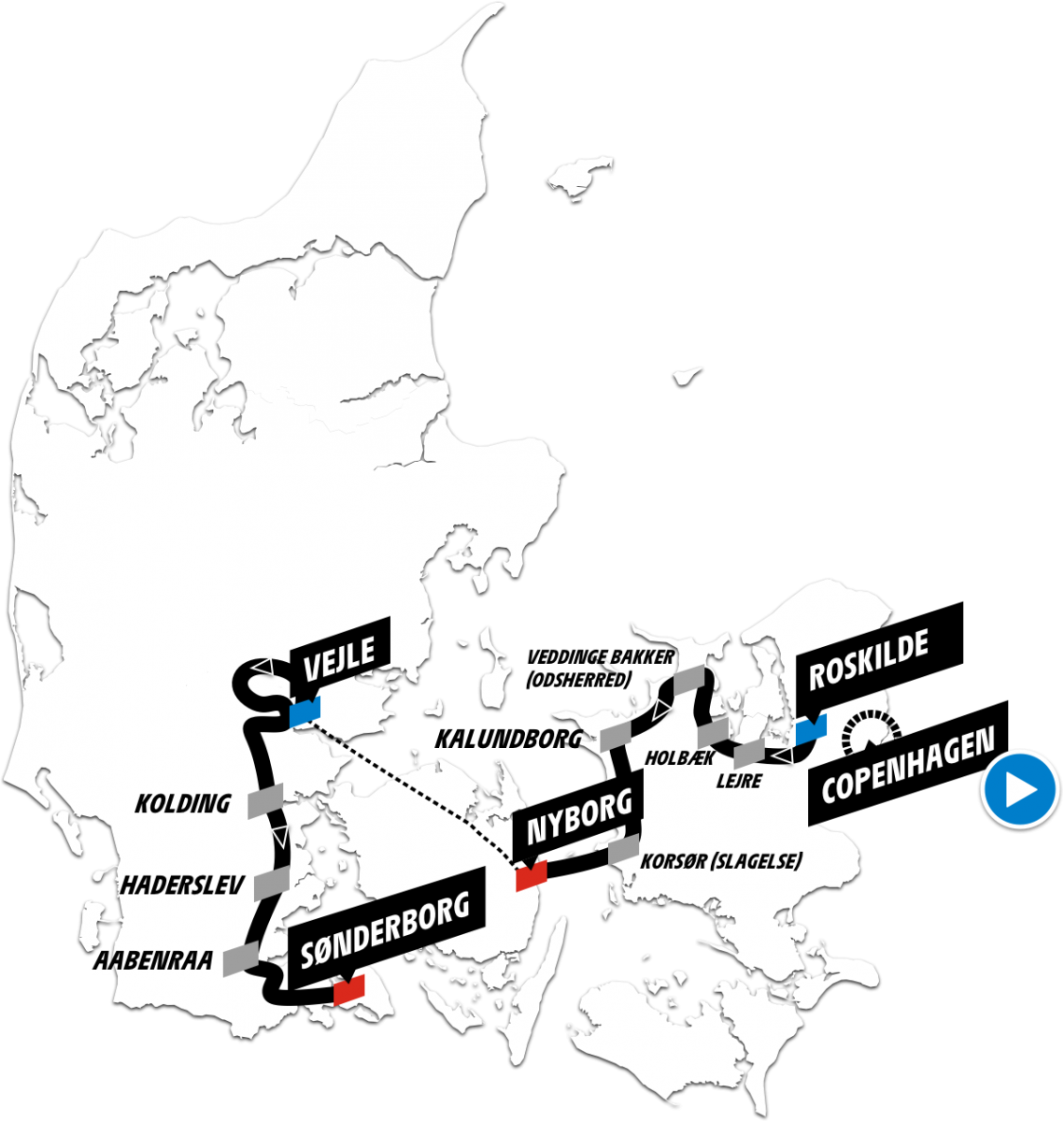 Tour de France in Denemarken