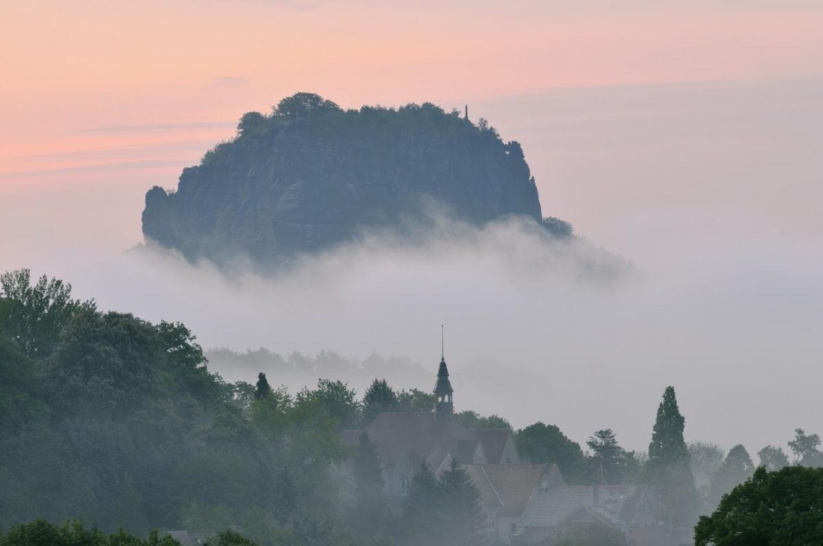 Elbsandsteingebergte in het Oosten van Duitsland. ©Frank Exß – Tourismusverband Sächsische Schweiz – Elbsandsteingebirge