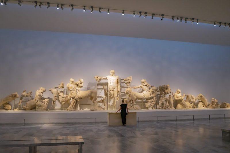 Het museum van Olympia Griekenland
