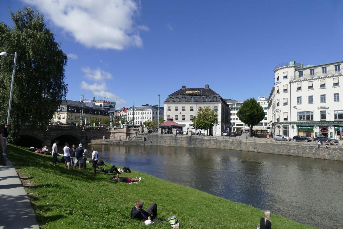 Stadsaanzicht Goteborg