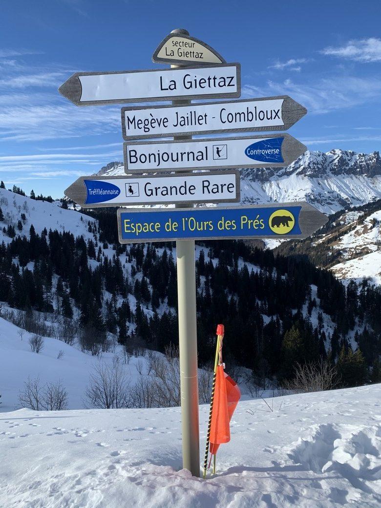 Maak je keuze - je kunt je hier helemaal een permanente euforie skiën.