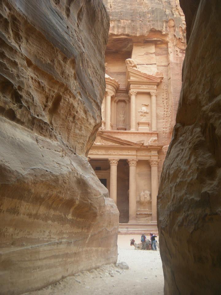 Petra in Jordanië. Foto: Pauline van der Waal