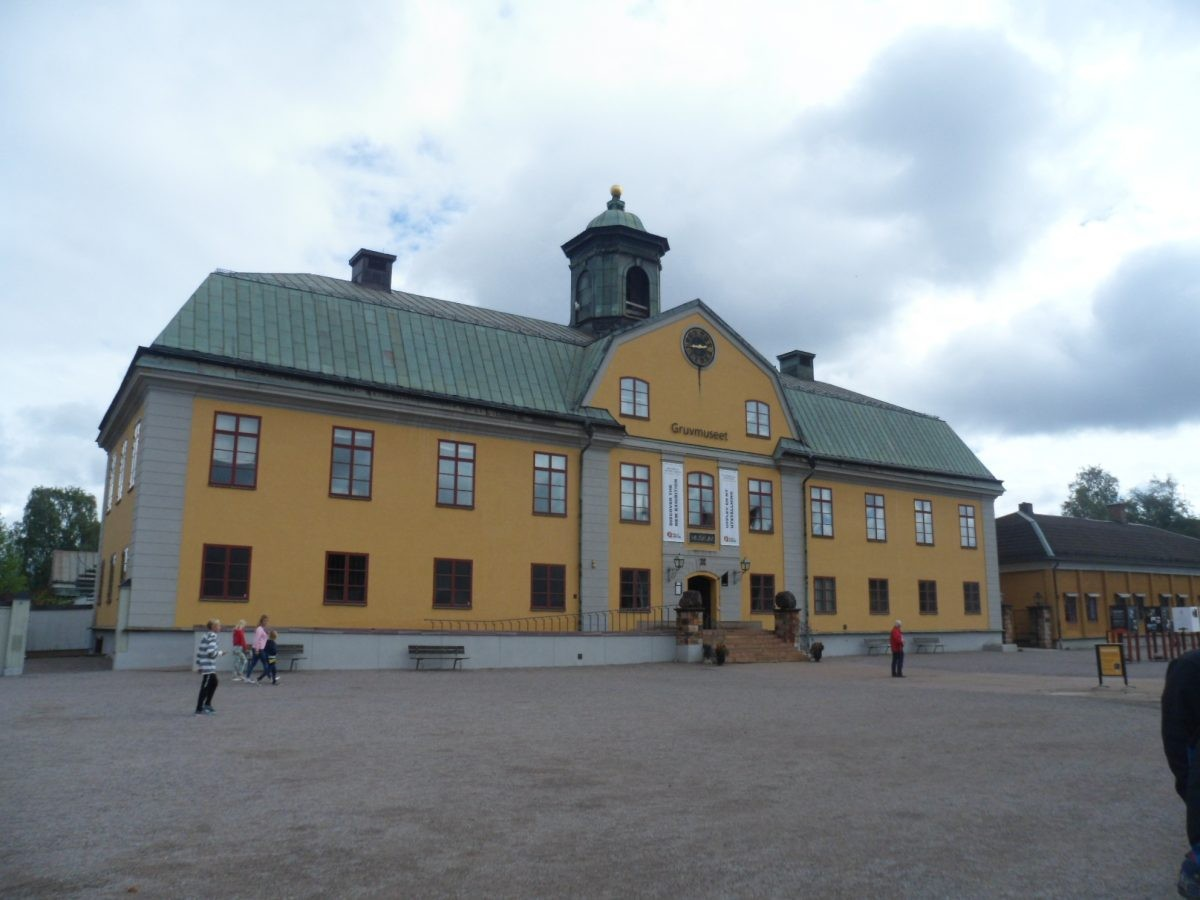 Museum kopermijn Falun