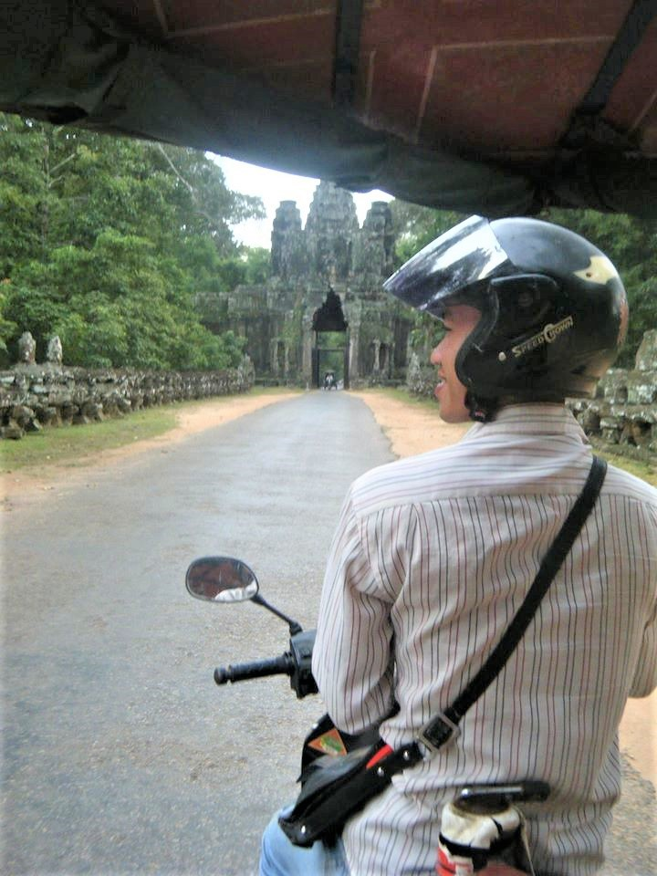 Op naar Ankor Wat! Foto: Pauline van der Waal