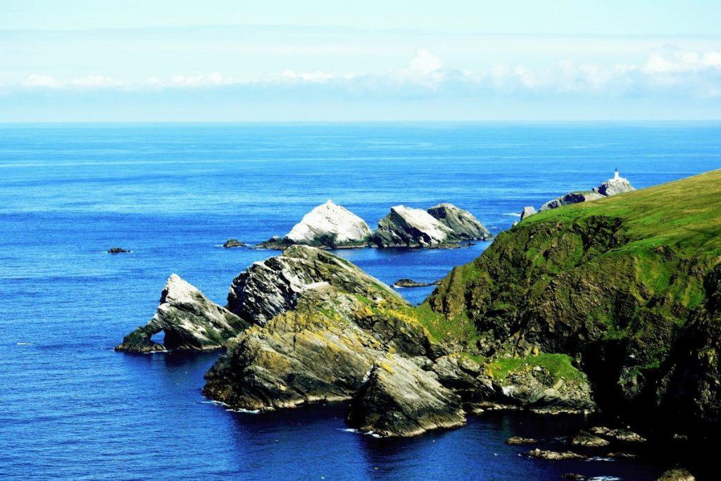 Orkney, de Shetlands en Western Isles