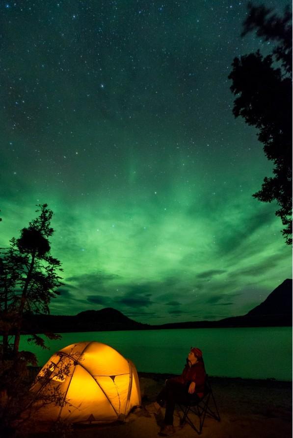 Absoluut op mijn wishlist: het zien van het Noorderlicht! Foto: Fritz Mueller