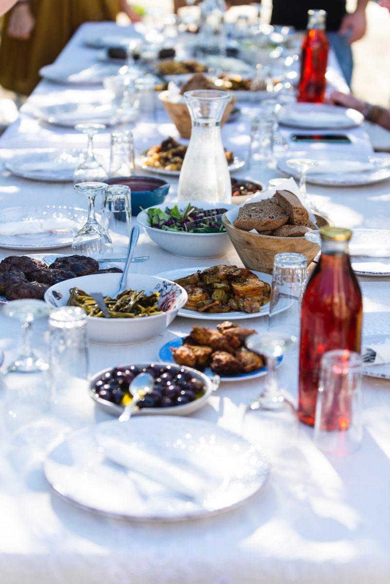 Alleen maar Griekse heerlijkheden. Foto: STELLIOS/ MBike