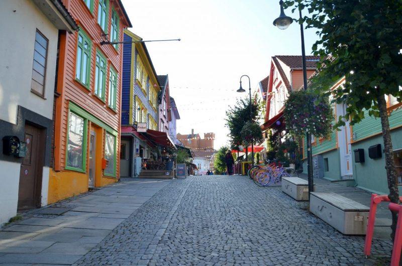 Straatje in Stavanger
