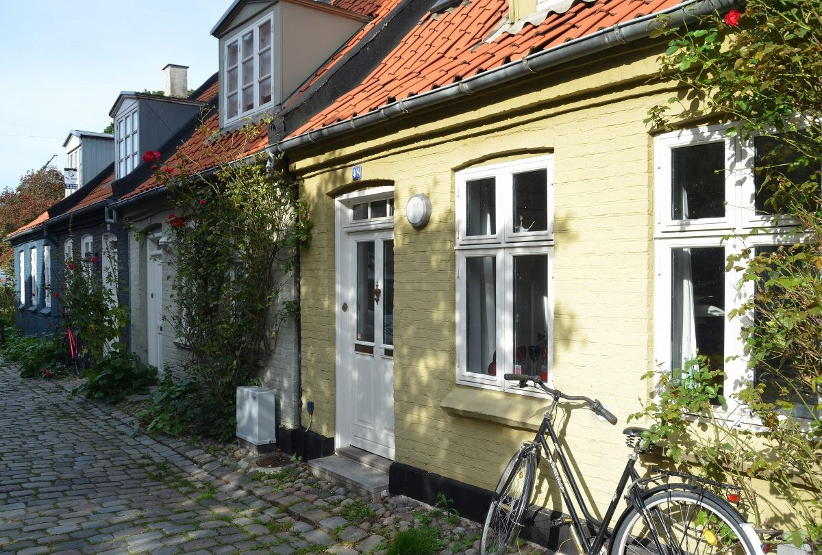 Møllestien straatje in Aarhus