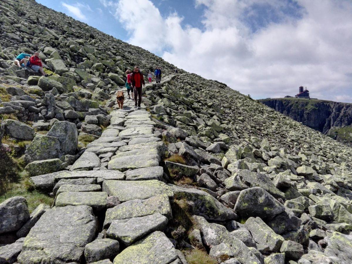 Wandelen in Krkonoše, het Reuzengebergte. Foto: Jan Špelda