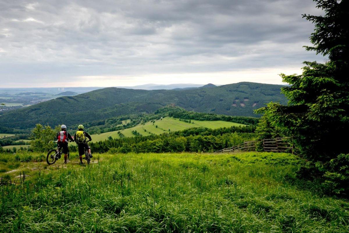 De omgeving is prachtig in de Lausitzer bergen. Foto: Petr Slavík