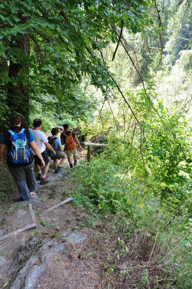 Onderweg Alpe Adrial Trail 1
