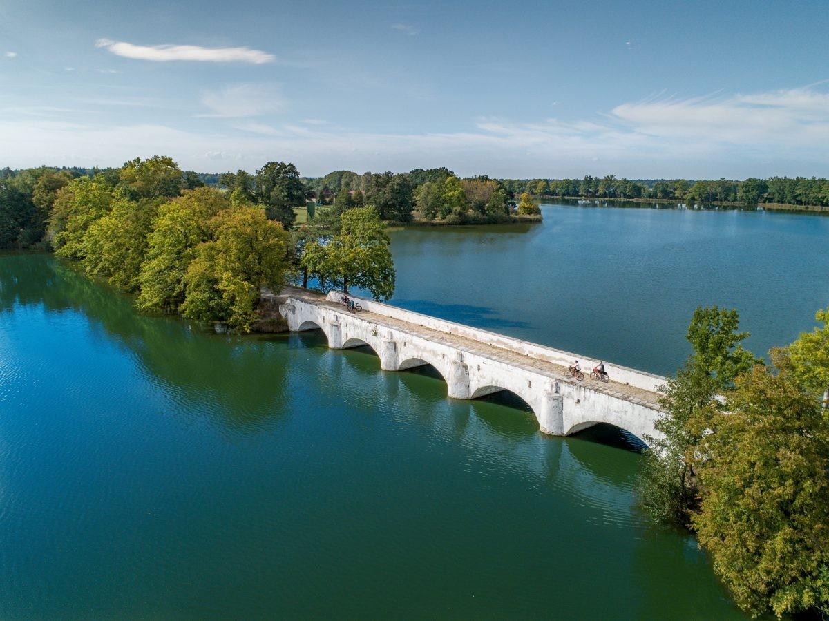 Het mysterieuze waterlandschap van de streek Třeboňsko. Foto: UPVISION