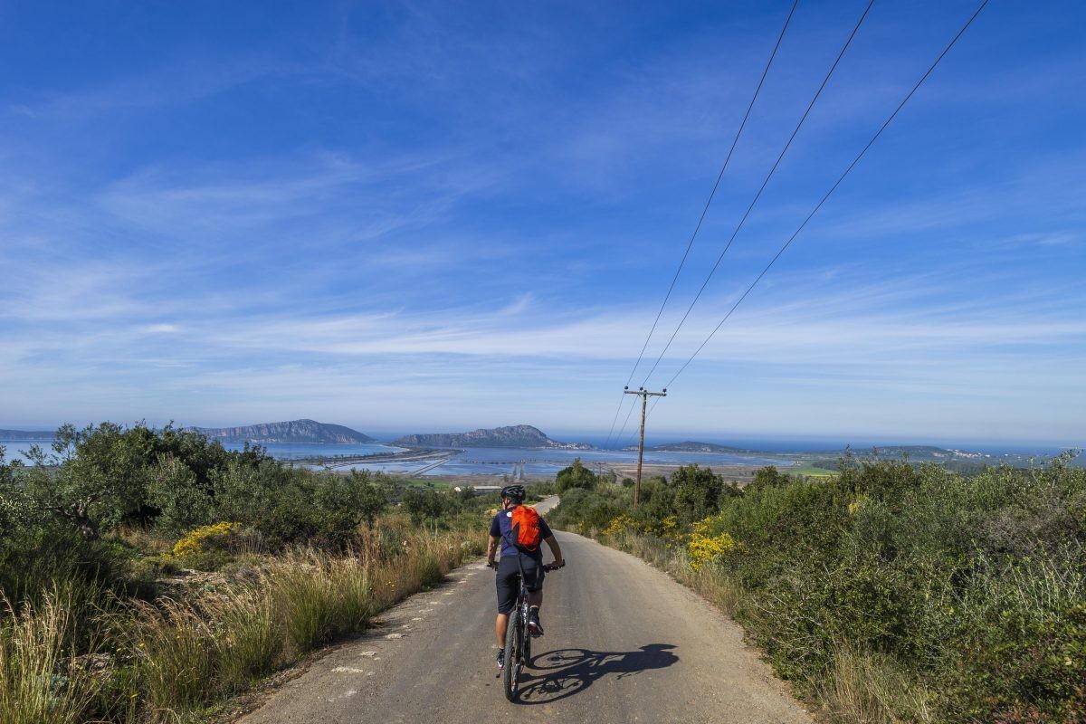 Uitzicht! Foto: STELLIOS/ MBike