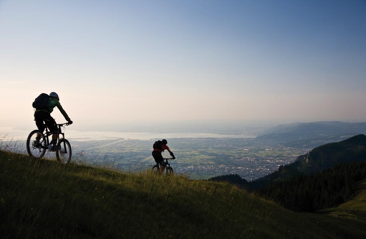 Uitzicht op de Bodensee
