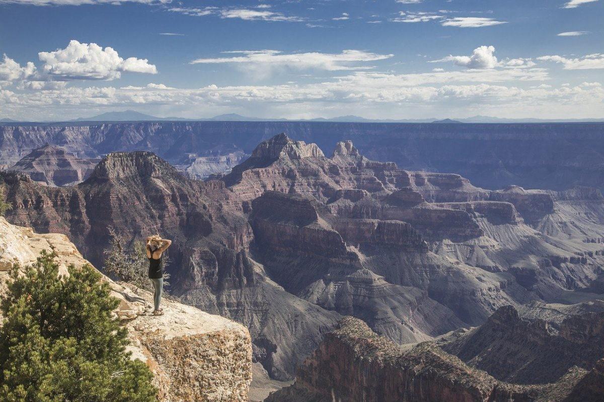 Uitzicht op de Grand Canyon. Afbeelding van Michael Just via Pixabay
