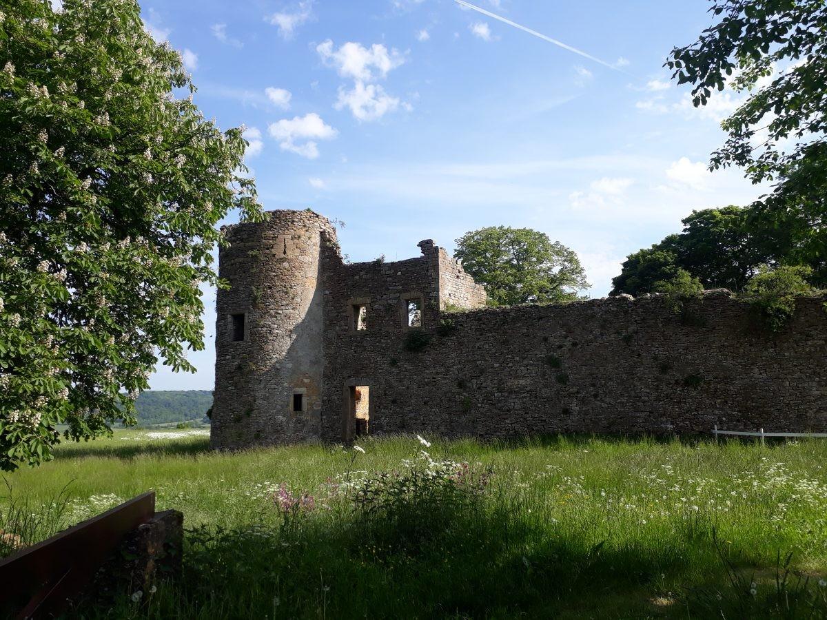kasteel van Montquintin ooit een belangrijk strategische punt