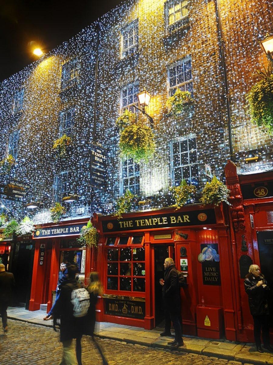 The Temple Bar Dublin