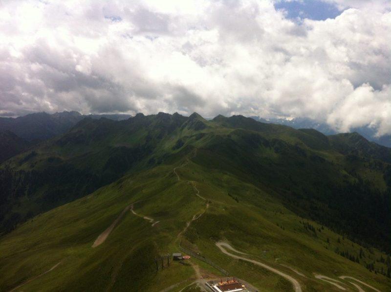 Uitzicht vanaf de Wiedersbergerhorn