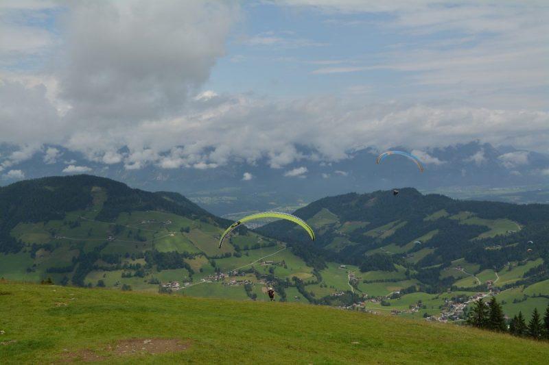 Paragliden in Wildschönau