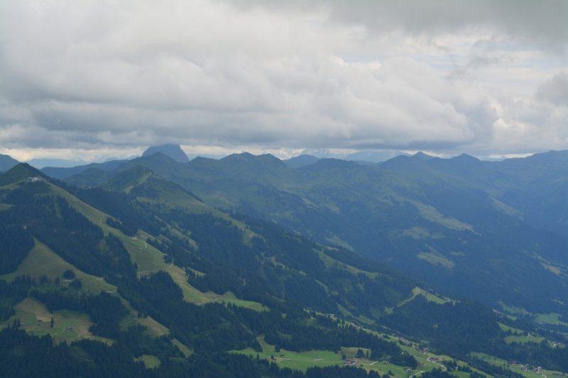 Panorama van de Hohe Salve