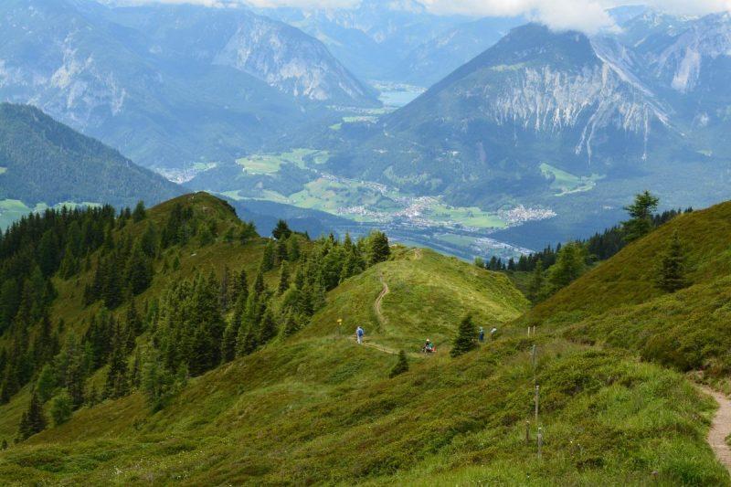 Oneindige wandelpaden op de Wiedersbergerhorn - Eigen foto Jacqueline van der Steele