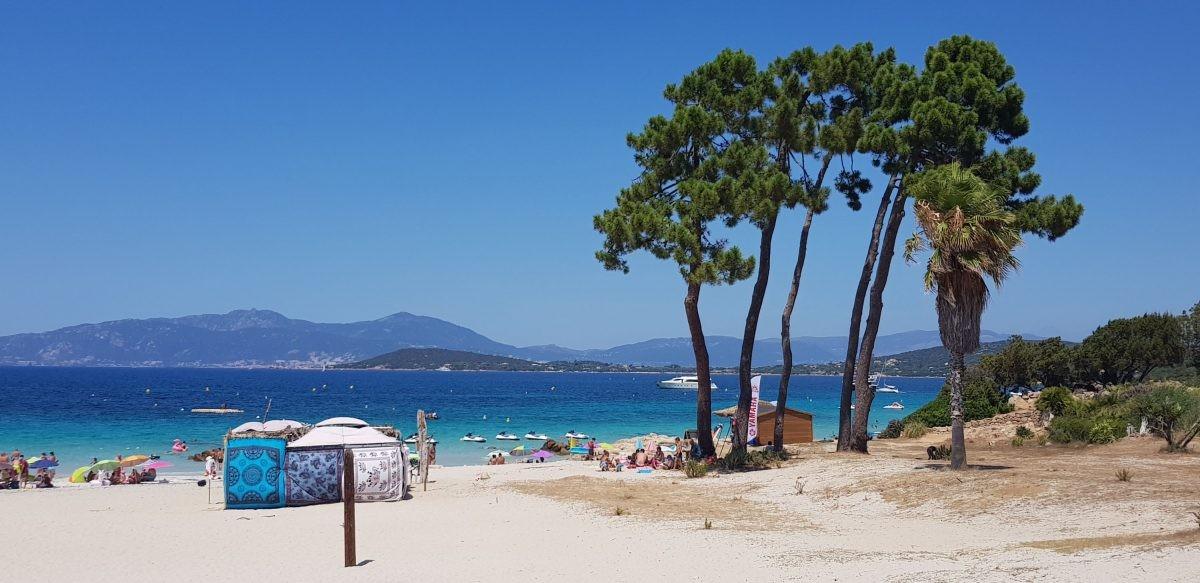 Plage d'Argent Corse