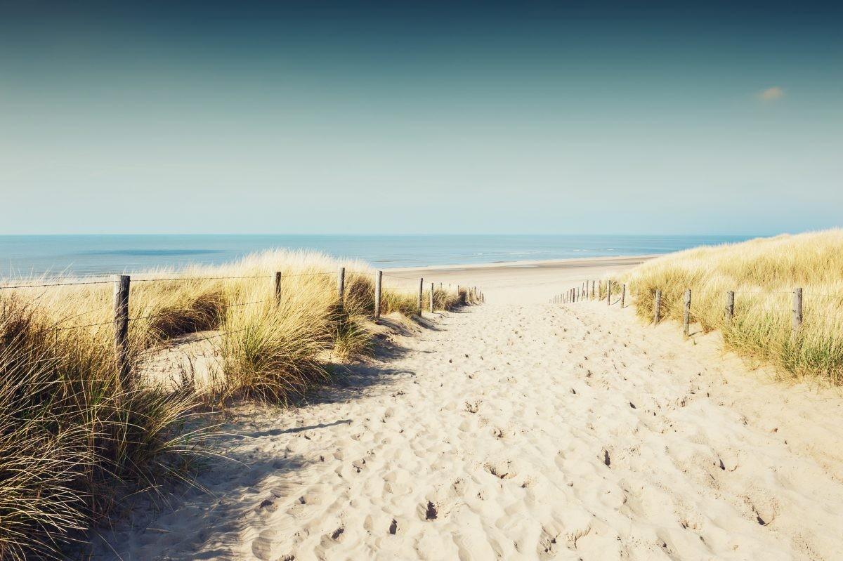 Een wandeling die eindigt op het strand is altijd een goed idee!