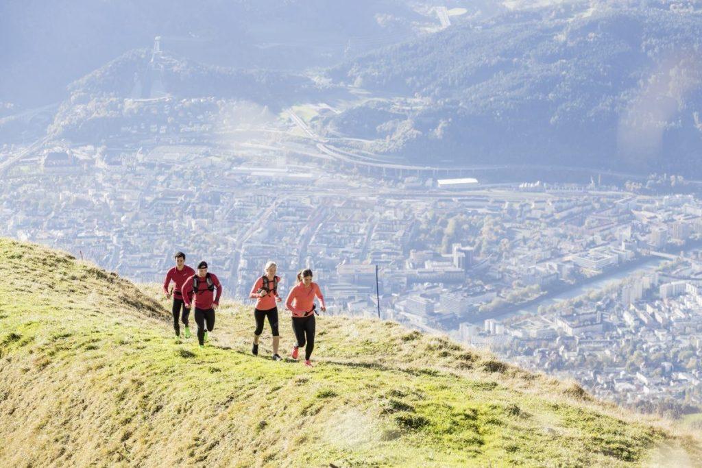 Uitzicht op de stad vanaf de Nordkette © Innsbruck Tourismus Andreas Amplatz