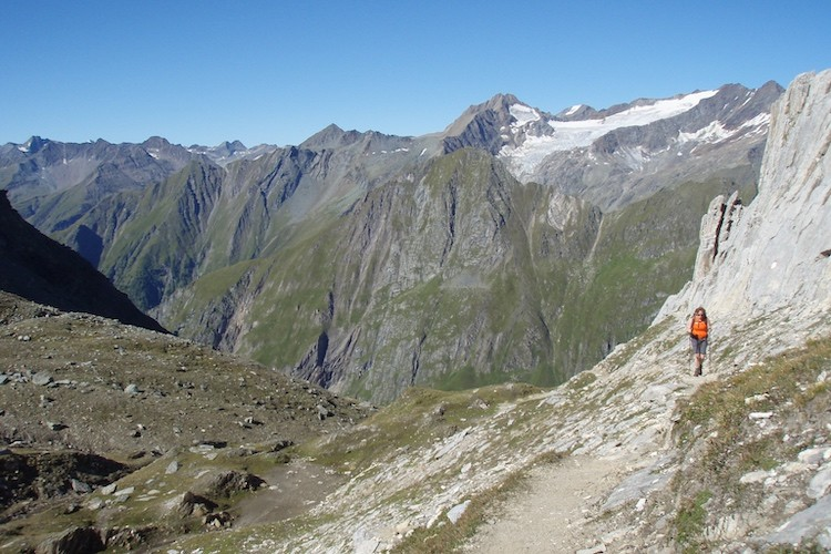 Virgental huttentocht Oostenrijk