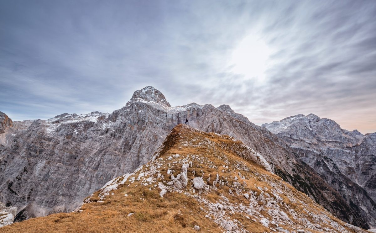 Triglav in Slovenië