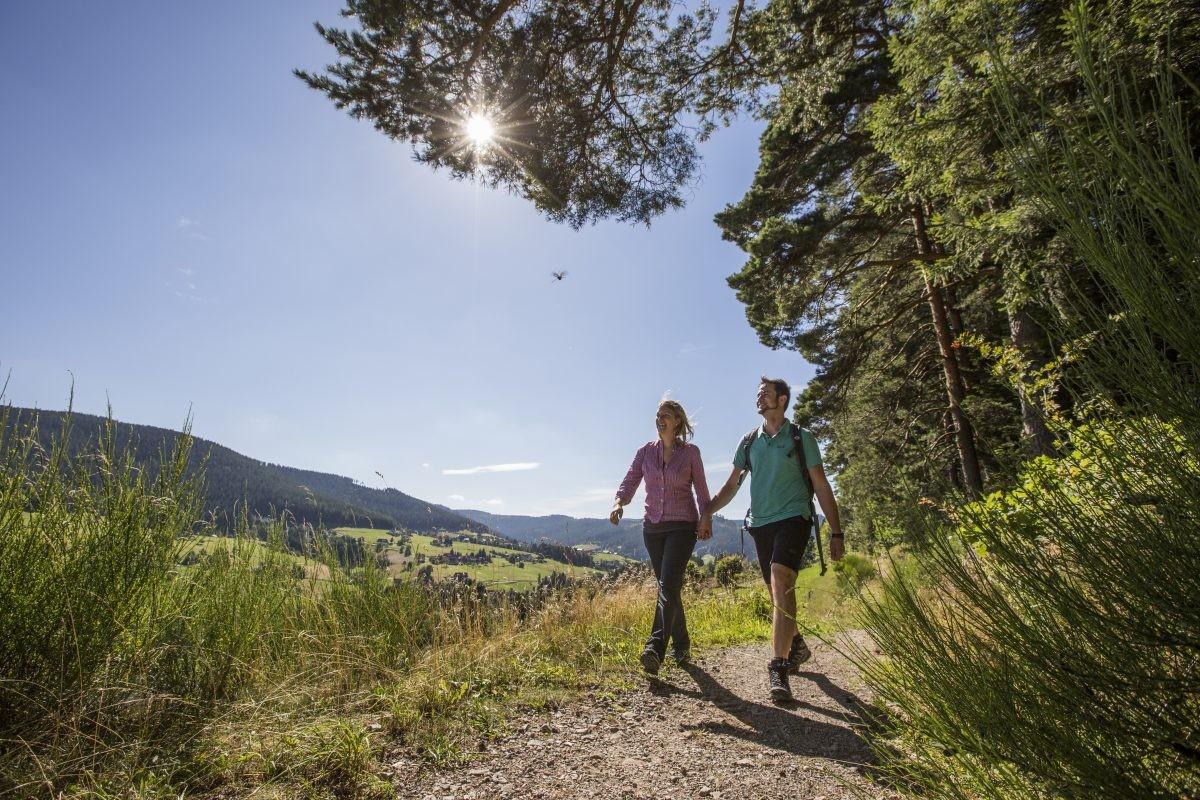 In Baiersbronn is de natuur overweldigend. Foto: Baiersbronn Touristik / Ulrike Klumpp