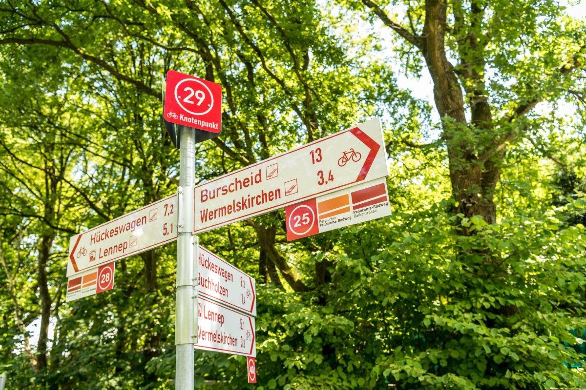 De panoramafietsroutes bestaan in totaal uit 250 kilometer. Foto: Dominik Ketz