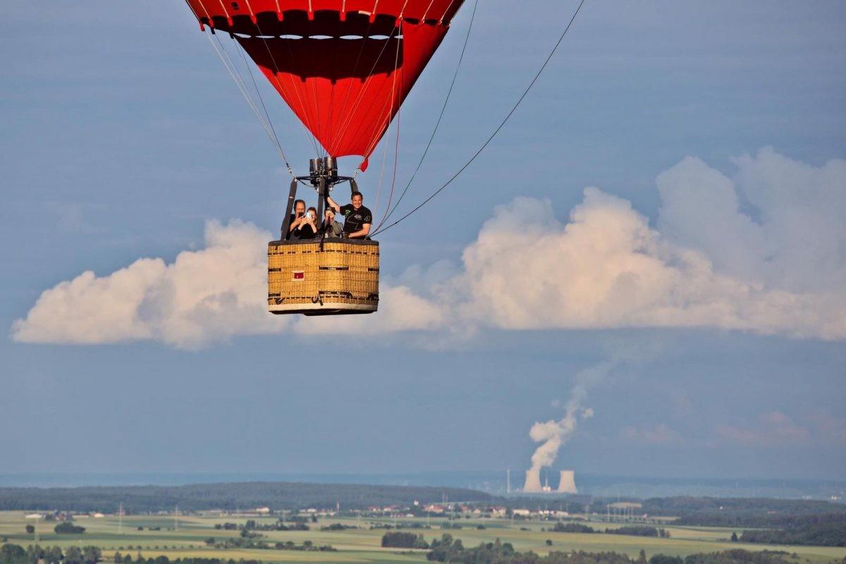 Ballonvaren over de Donau. Foto: Deutsche Zentrale für Tourismus