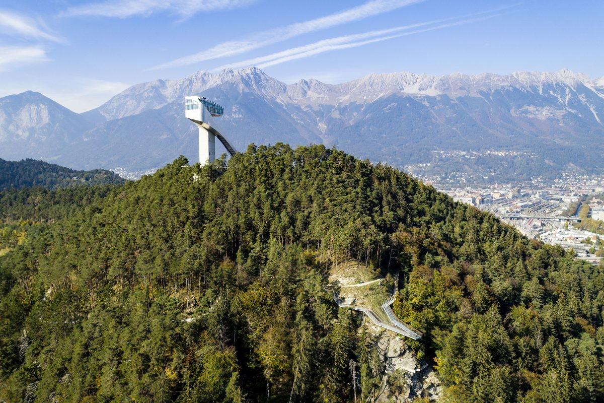 Springschans Bergisel. Foto: Innsbruck Tourismus Mario Webhofer
