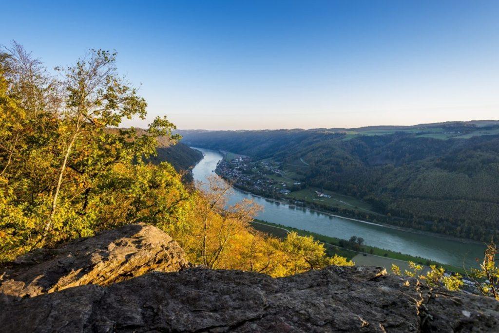 De Donau bij Passau. Foto: bayern.by Gregor Lengler